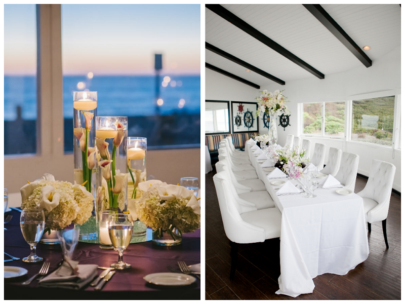 Beach Indoor Wedding