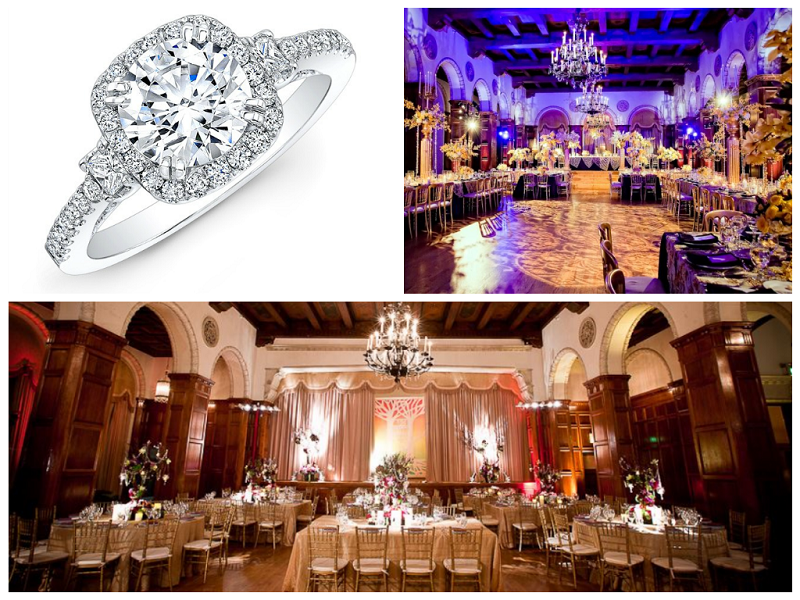 Oval Ring and Los Angeles Venue