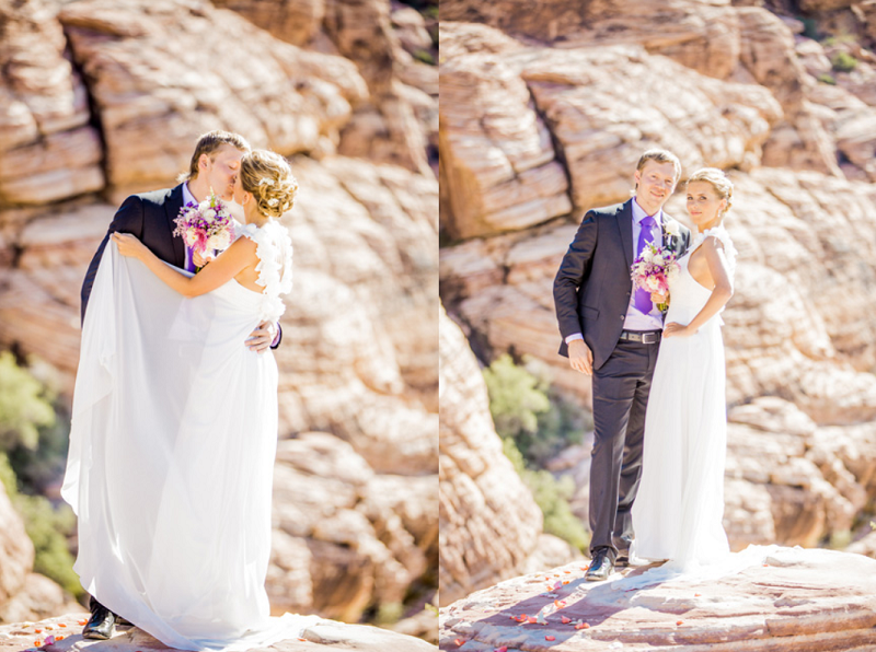 Desert Wedding in Las Vegas