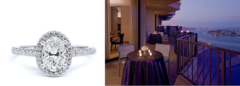 San Diego Venue with Oval Ring