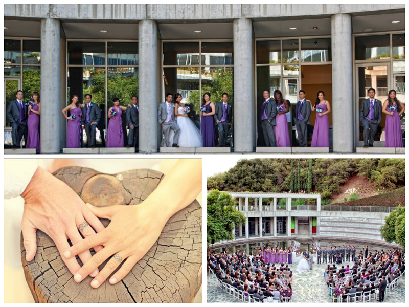 Tattoo Rings and Outdoor Courtyard in Santa Monica