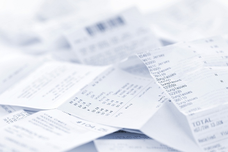 Save Your Wedding Receipts