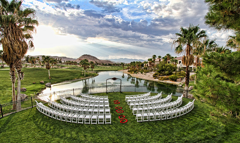 Golf Course Wedding In Las Vegas