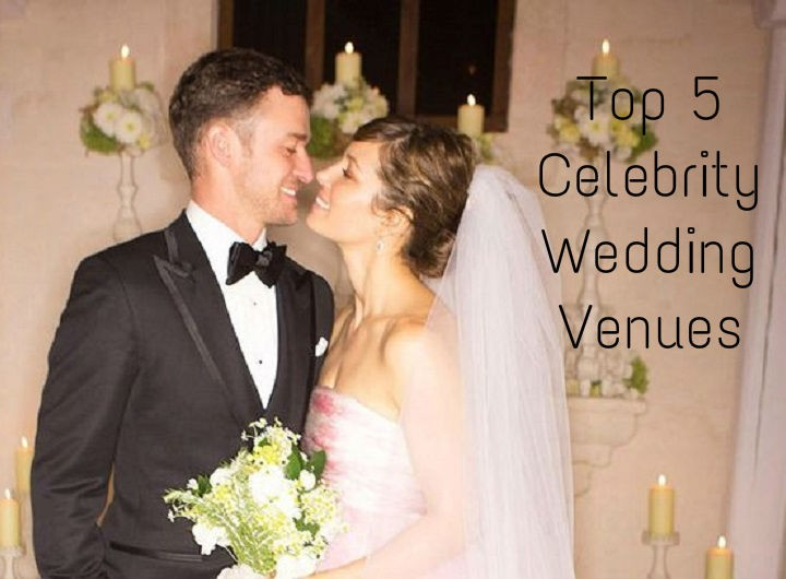 Top 5 Celebrity Wedding Venues
