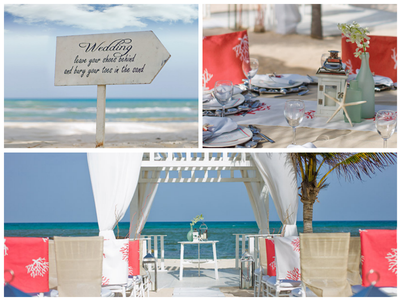 Beach Wedding Ceremony & Reception in the Riviera Maya