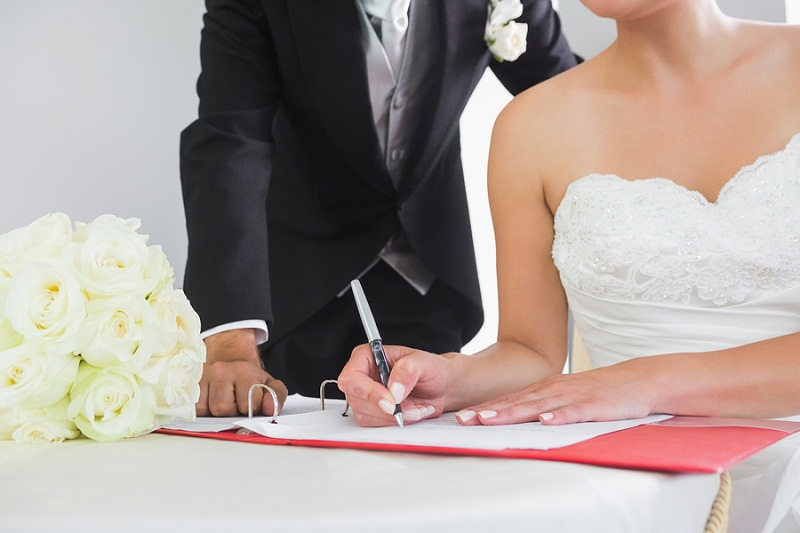 Ever After Blog- A Wedding Blog: Signing Contracts