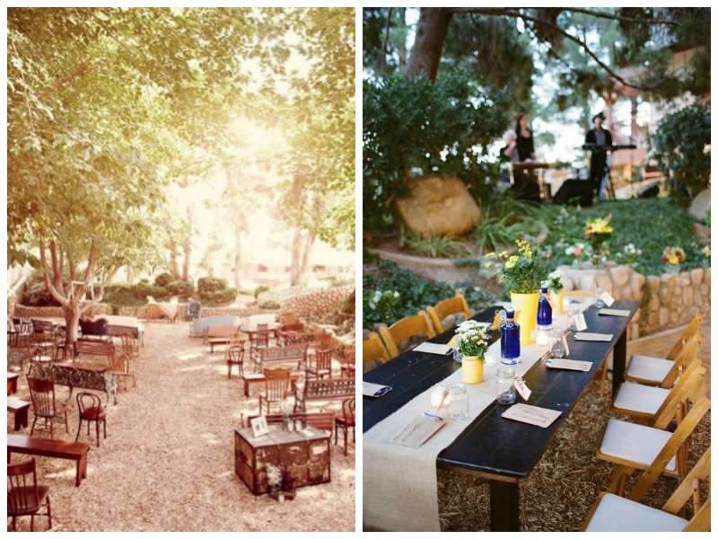 Ever After: A Wedding Blog-Rustic Garden Wedding in Las Vegas