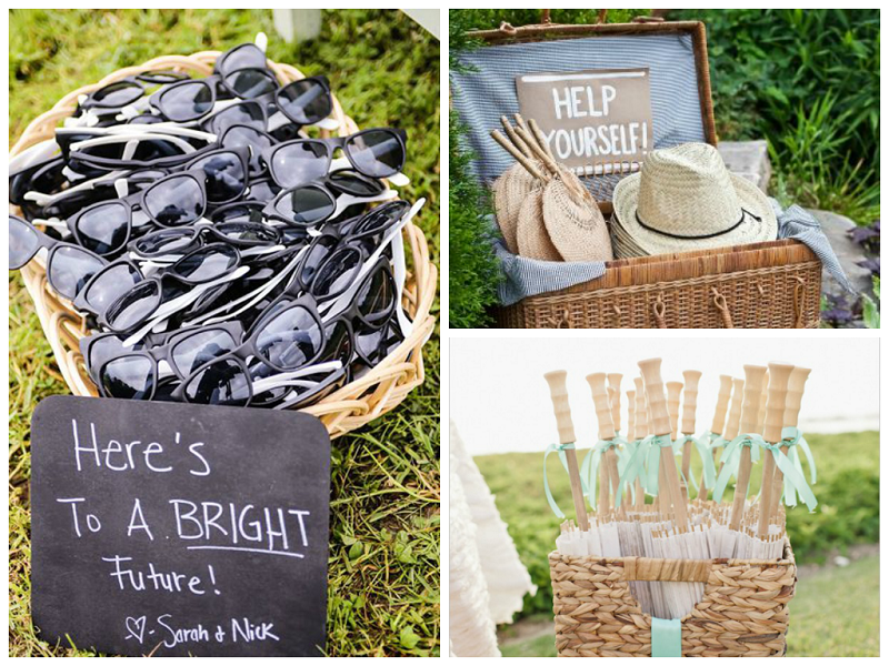 2014 Summer Wedding Trends: Cool Wedding Favors