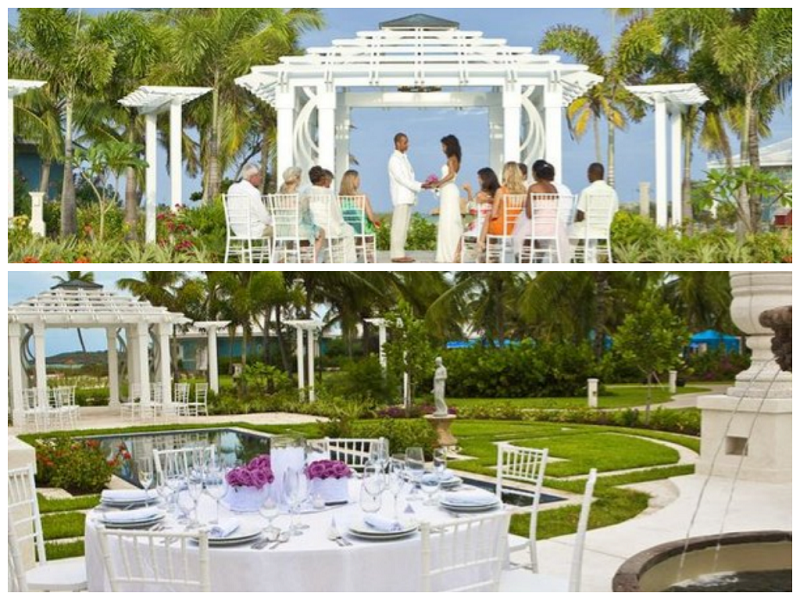 Wedding Ceremony & Reception in the Caribbean