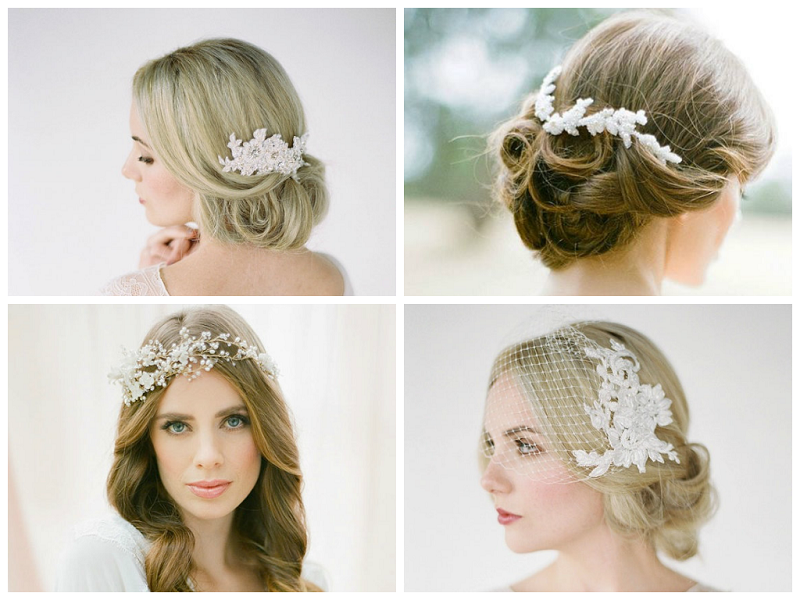 2014 Summer Wedding Trends: Era-Inspired UpDo's & Headbands