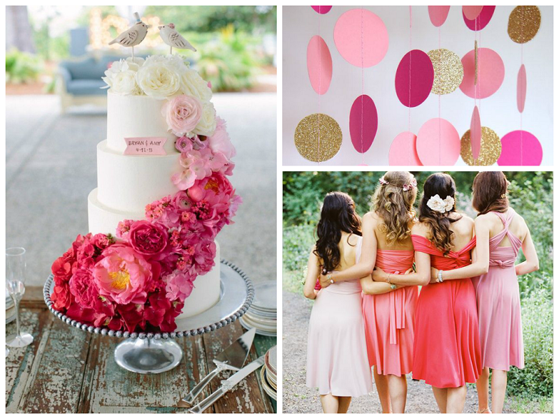 2014 Summer Wedding Trends: PINK!