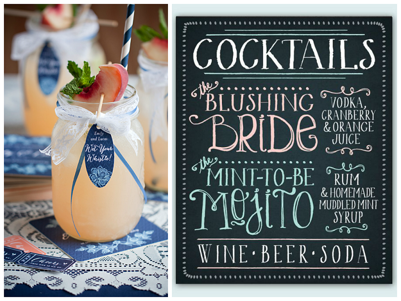 2014 Summer Wedding Trends: Signature Cocktail