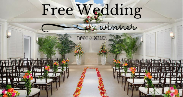 Highlighting Winners of Free Las Vegas Wedding: Tawni & Derrick