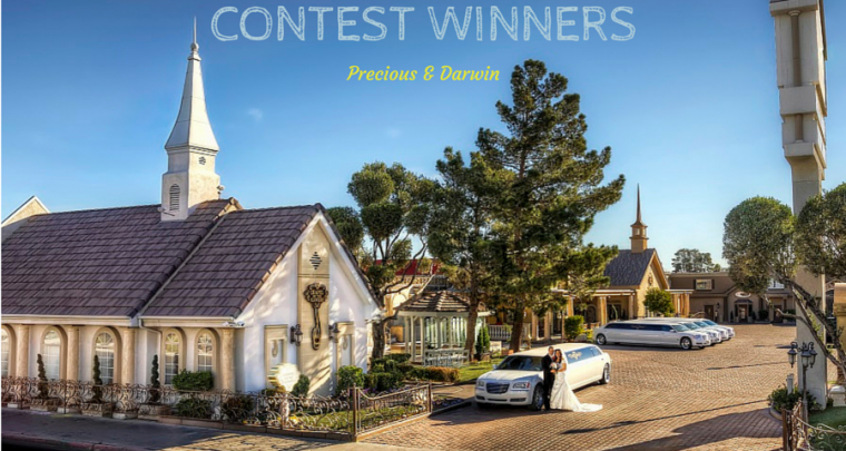 Highlighting Winners of Free Las Vegas Wedding: Precious & Darwin