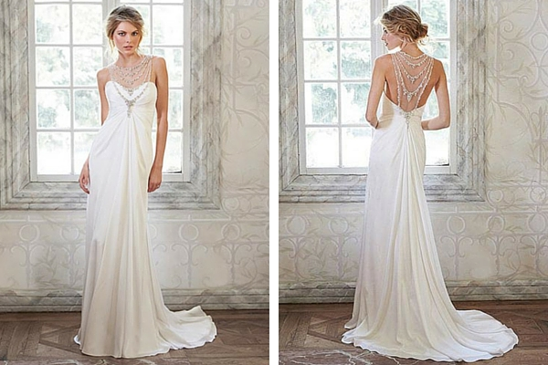 Elegant Beach Wedding Dress by Maggie Sottero