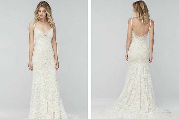 Lace Wedding dress for casual destination weddings