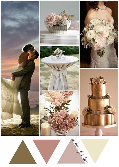 Color Themes Perfect for Beach Weddings