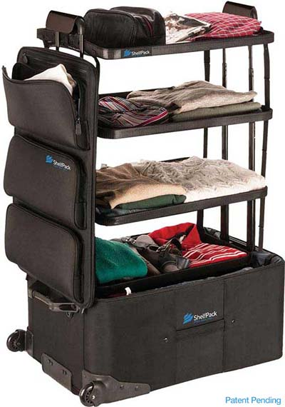Self Packing Suitcase
