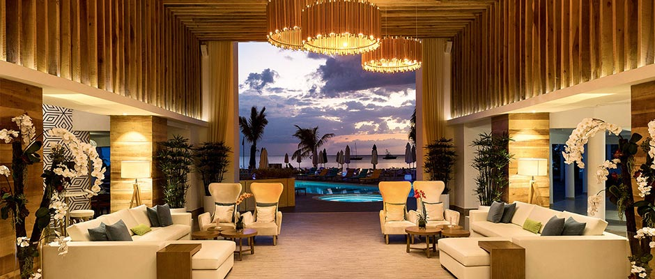Jamaica Weddings | Destination Weddings | Modern Lobby