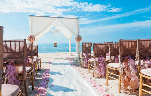 Jamaica Weddings | Destination Weddings | Blush Wedding on the Beach