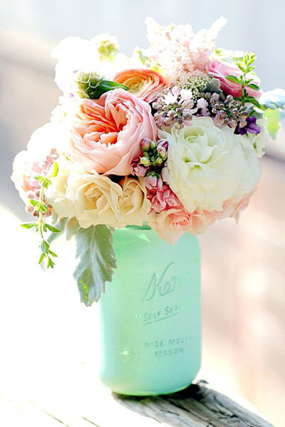 Wedding Flower Ideas | Spring Wedding Flower Decortation