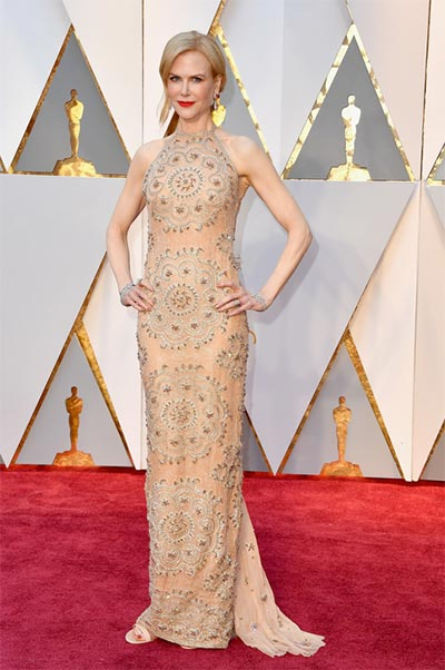 Nicole Kidman in Armani Privé | Oscars | Wedding Fashion