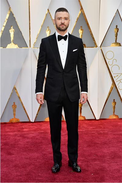 Justin Timberlake in Tom Ford | Oscars | Wedding Fashion