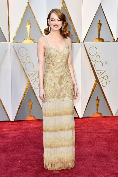 Emma Stone in Givenchy Haute Couture | Oscars | Wedding Fashion