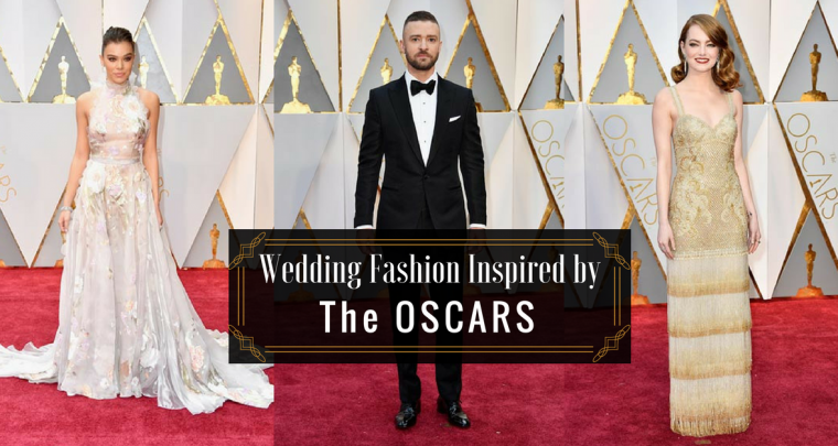 Wedding Fashion Inspired by the Academy Awards' Red Carpet
