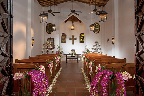 Non Beach Destination Wedding | Caribbean Weddings | Mexican Chapel Weddings