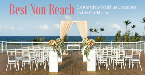 destination wedding guide to non beach locations in the caribbean