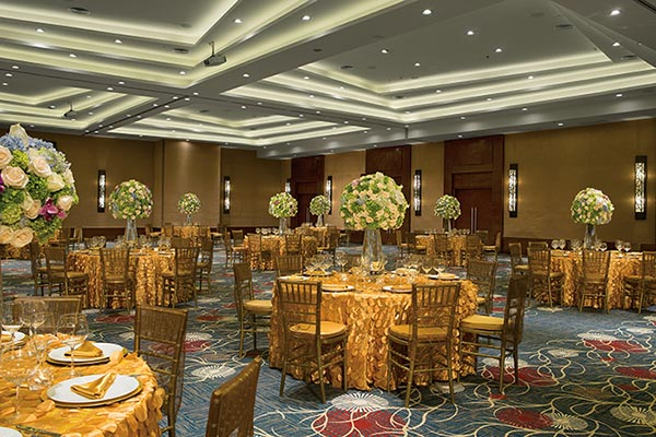 Destination Weddings in Mexico | Rivieria Maya | Ballroom Reception