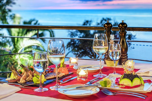 Destination Weddings in Mexico | Rivieria Maya | Gourmet Food at Mexican Resort