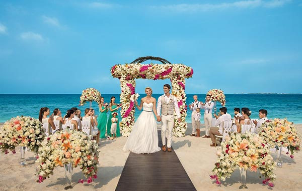 Destination Weddings In Mexico Rivieria Maya Beach Wedding At Luxury Resort