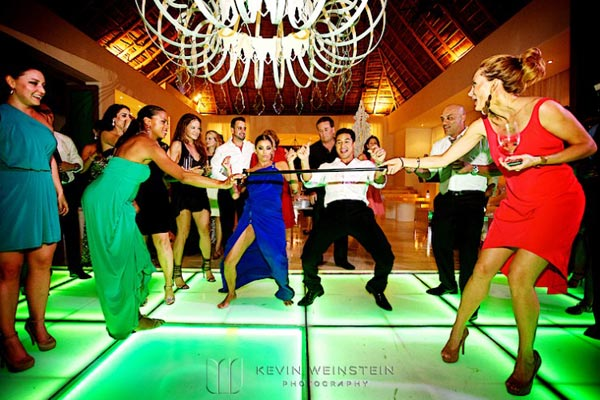 Celebrity Wedding Photos and Ideas: Mario Lopez Reception Dance Party