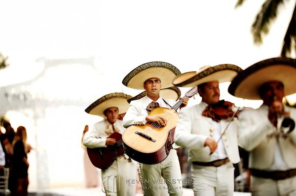 Celebrity Wedding Photos and Ideas: Mariachi Band