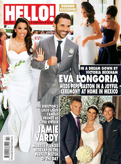 Celebrity Wedding Photos and Ideas: Eva Longoria