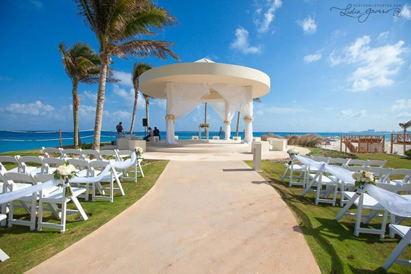 Celebrity Wedding Photos and Ideas: Mexican Wedding Ceremony Location