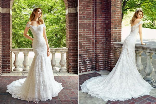 Celebrity Wedding Photos and Ideas: Val Stefani Aspen Wedding Dress