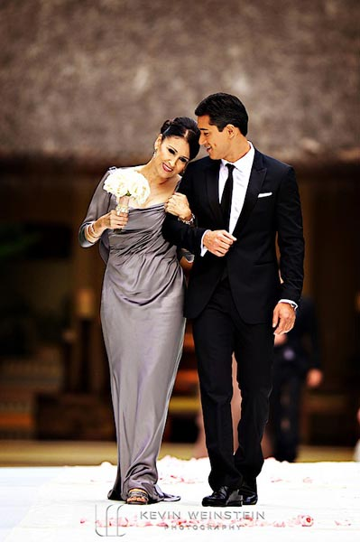Celebrity Wedding Photos and Ideas: Mario Lopez John Varvatos Tuxedo