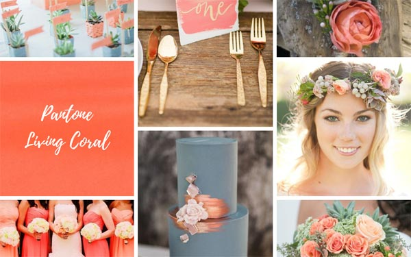 "6 ""Must-Have"" Coral Wedding Ideas"