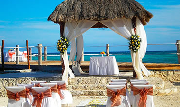 Pier Ceremony Beach Reception In Mexico For Up To 100 Guests